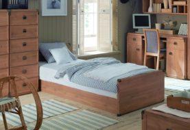 I jednolůžkové postele mohou ukrývat plnohodnotný úložný prostor
