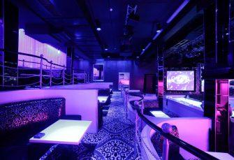 Návrh interiéru nočního baru, klubu sorientálními prvky v Praze