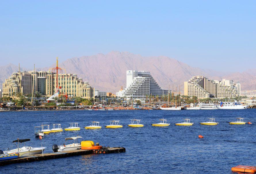 Eilat – ráj pro milovníky koupání a opalování