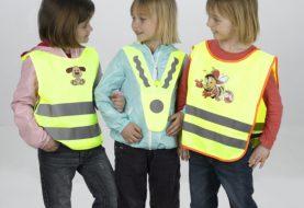 Reflexní vesty: Myslete na bezpečí svých dětí