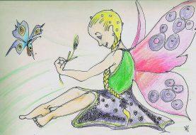 Kniha Magické peříčko a Tajný svět