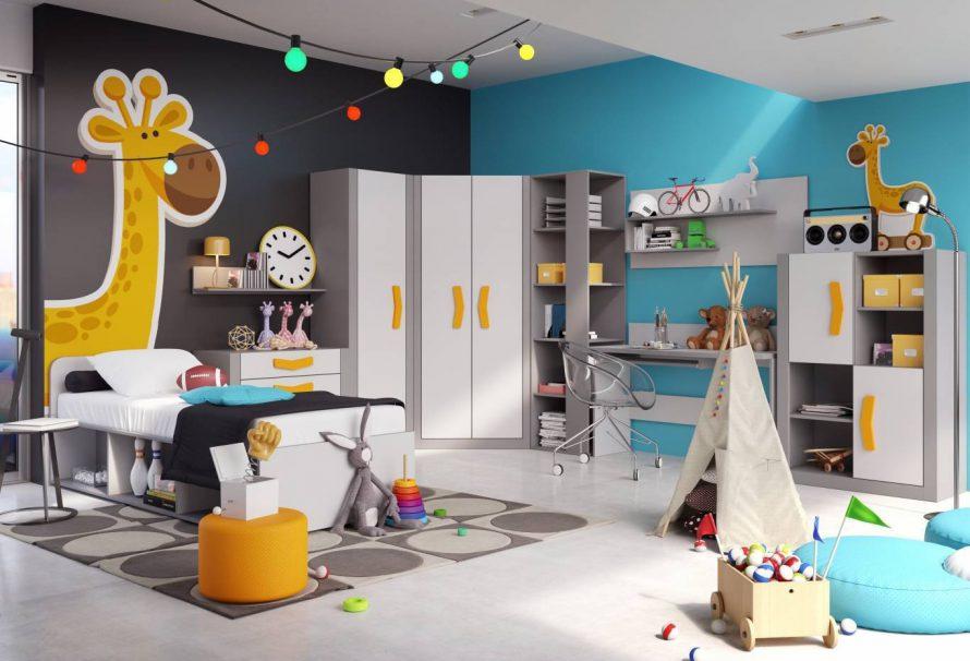 Zařizovat dětský pokoj je veliká zábava!