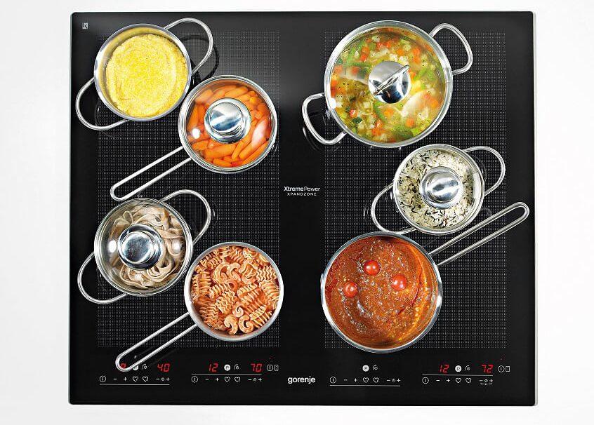 Vařte s indukčními deskami GORENJE bez omezení