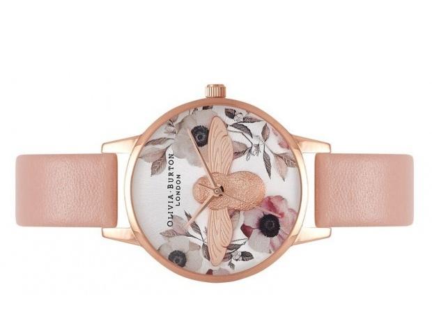Něžné dámské hodinky Olivia Burton