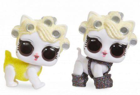 L.O.L. Surprise! Fuzzy Pets Chlupáčci somývacími chloupky