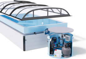 Bazén, který šetří vodu, energie i váš čas. To je BENEFIT od Albixonu!