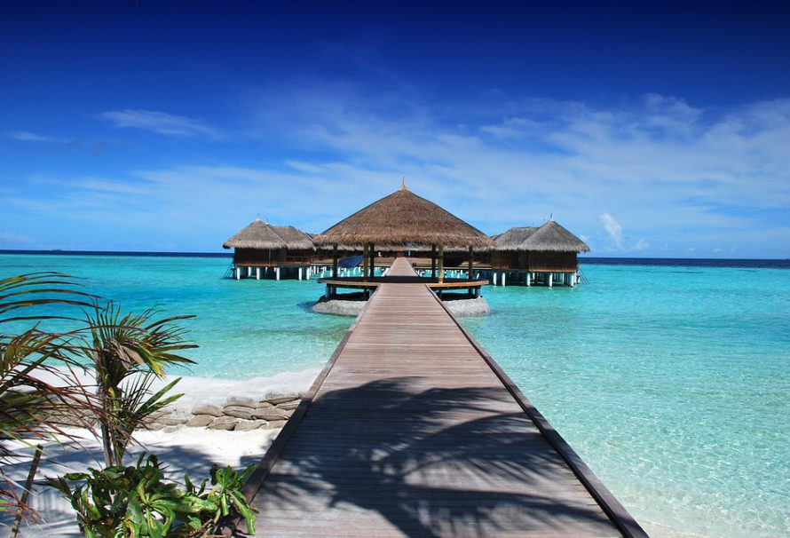 Naše dovolená na Maledivách