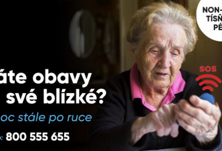 Anděl na drátě nikdy nespí! Nonstop pomoc pro seniory, která umí zachránit život