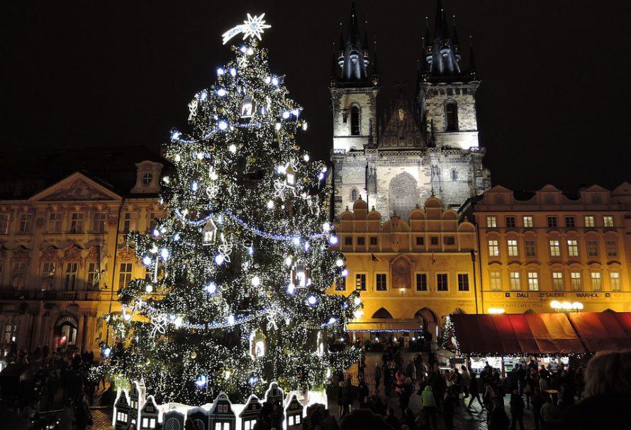 Vánoční trhy v Praze mají kouzelnou atmosféru
